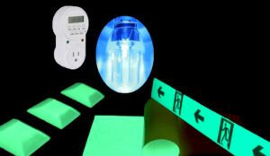 Glow Products with Light and Timer